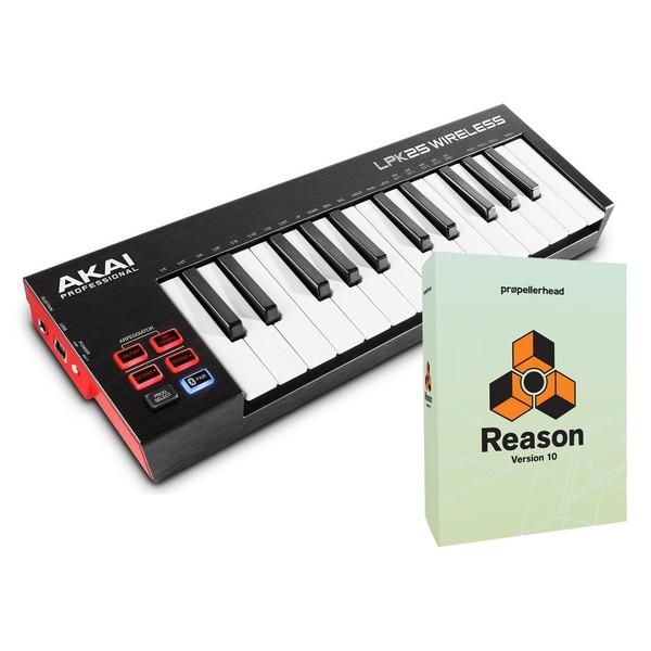 Akai LPK25 Wireless MIDI Controller with Reason 10 Upgrade - Full Bundle