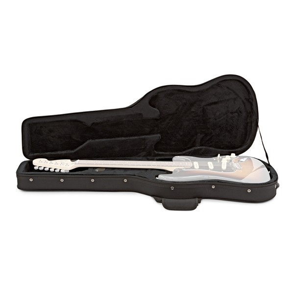 Electric Guitar Foam Case by Gear4music open