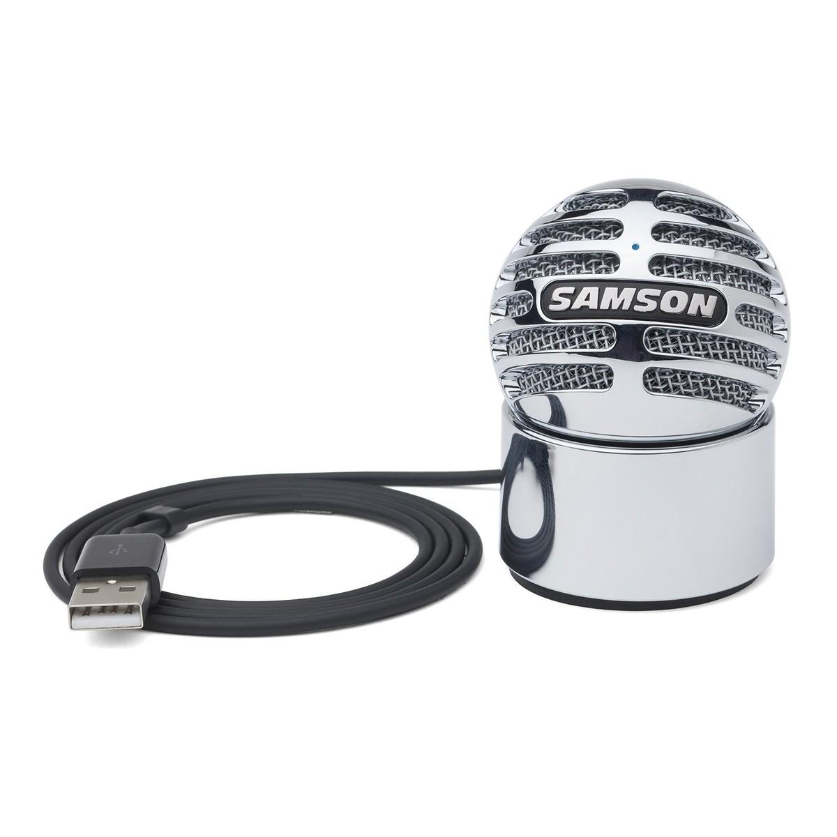 samson meteorite portable usb condenser microphone at gear4music. Black Bedroom Furniture Sets. Home Design Ideas