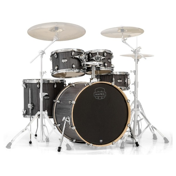 Mapex Mars 22'' Rock 5 Piece Shell Pack, Smokewood - Main Image