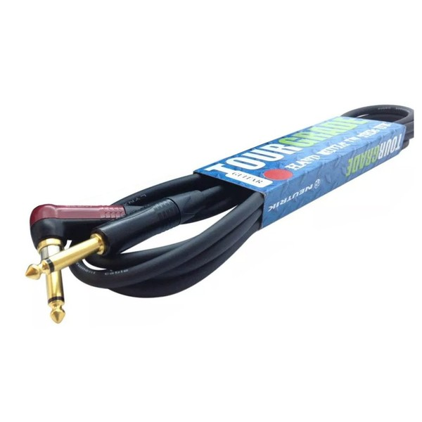 Custom Lynx Pro Guitar Cable w/ Silent Neutrik Jack (Angled), 5m - Main