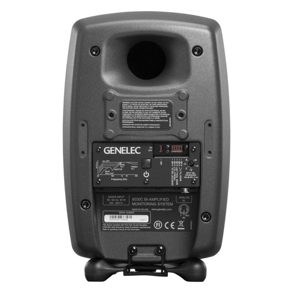 Genelec 8030 Studio Monitor - Rear