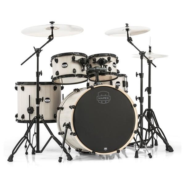 Mapex Mars 529 Rock 22'' 5 Piece Drum Kit, Bonewood - Main Image