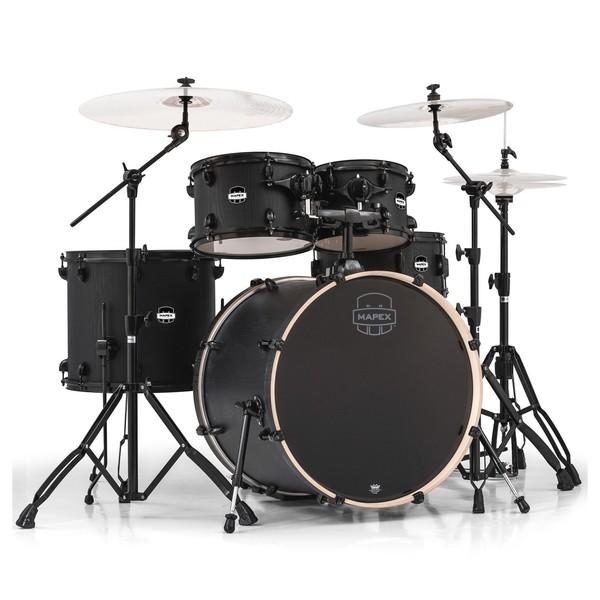 Mapex Mars 529 Rock 22'' 5 Piece Drum Kit, Nightwood - Main Image