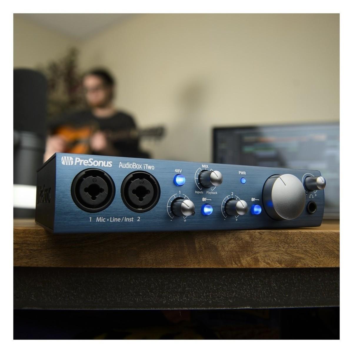 Presonus AudioBox iTwo med Rode NT1 A Vokal Opptakspakke
