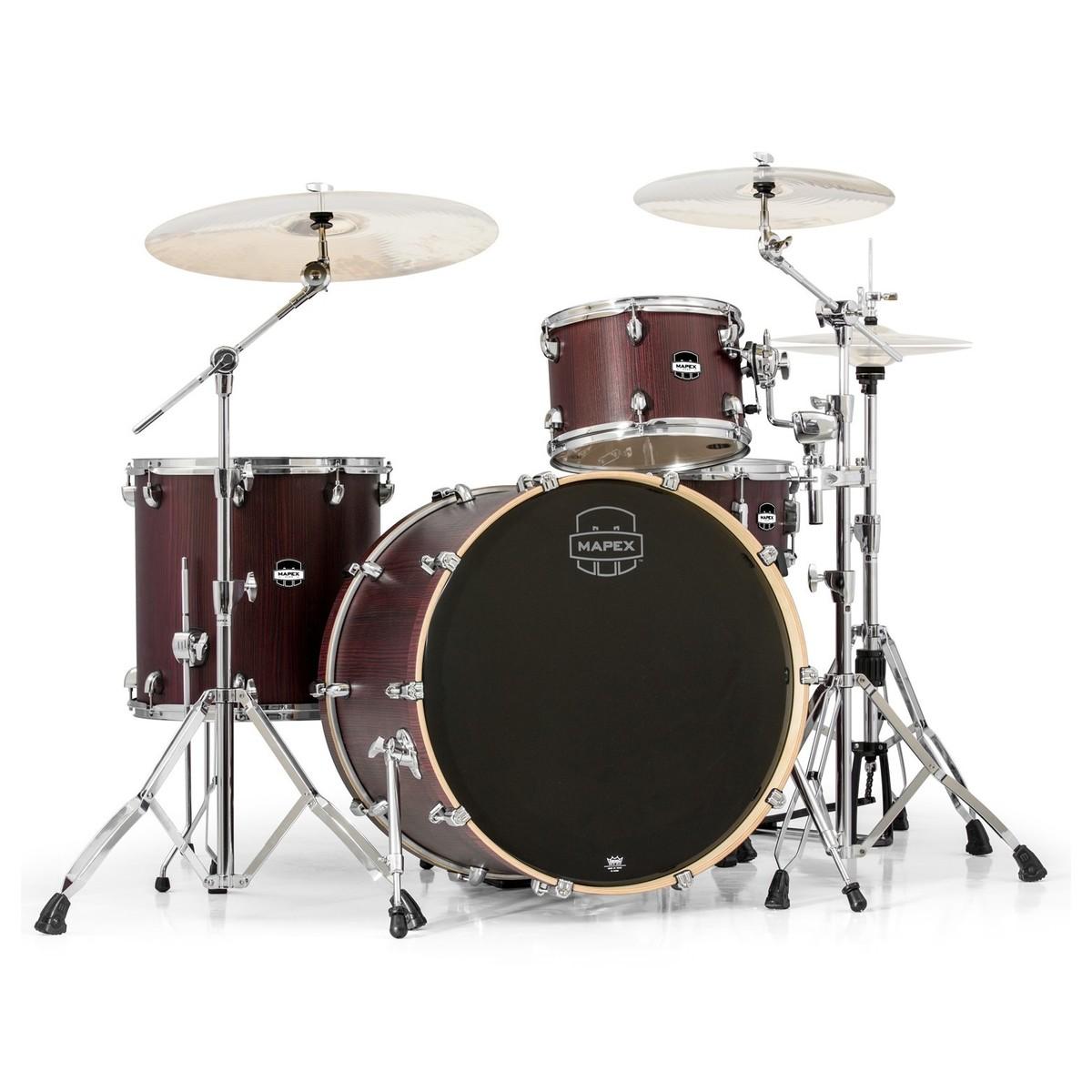 mapex mars 446 big beat 24 39 39 4 piece drum kit bloodwood at gear4music. Black Bedroom Furniture Sets. Home Design Ideas