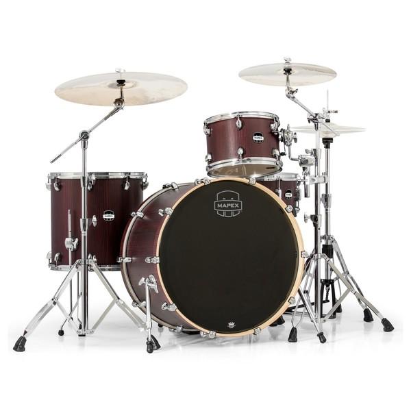 Mapex Mars 446 Big Beat 24'' 4 Piece Drum Kit, Bloodwood - Main Image