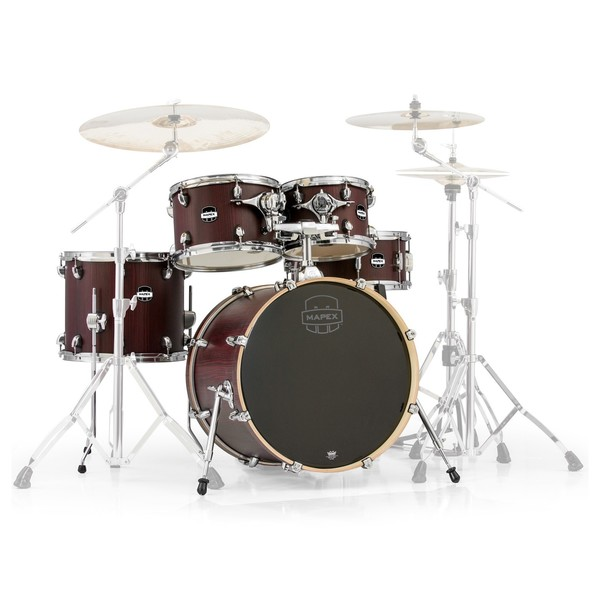 Mapex Mars 20'' Fusion 5 Piece Shell Pack, Bloodwood - Main Image