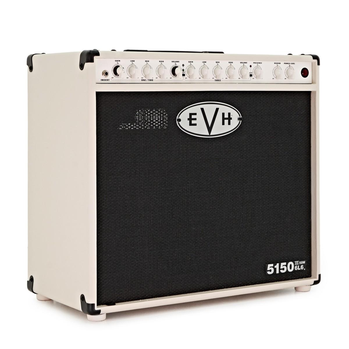 68f2ad4e6e2 EVH 5150 III 6L6 50W 1x12 Valve Combo
