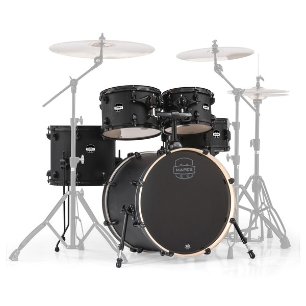 Mapex Mars 20'' Fusion 5 Piece Shell Pack, Nightwood - Main Image