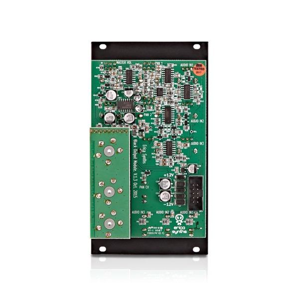 Erica Synths Black Output Module back