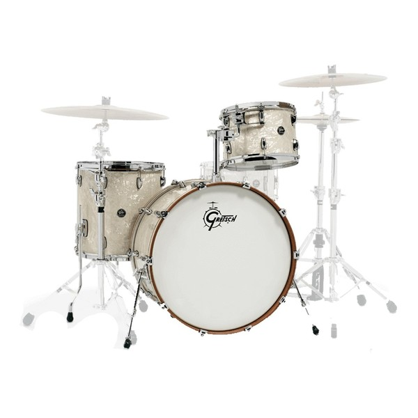 Gretsch Renown RN2 3 Piece Shell Pack, Vintage Pearl