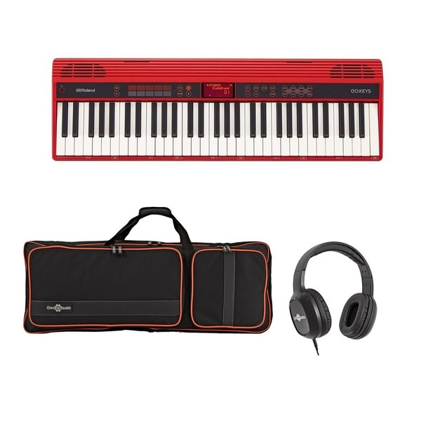 Roland Go:Keys Music Creation Keyboard Pack, Red