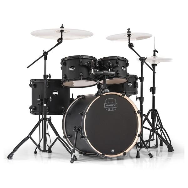 Mapex Mars 504 Fusion 20'' 5 Piece Drum Kit, Nightwood - Main Image