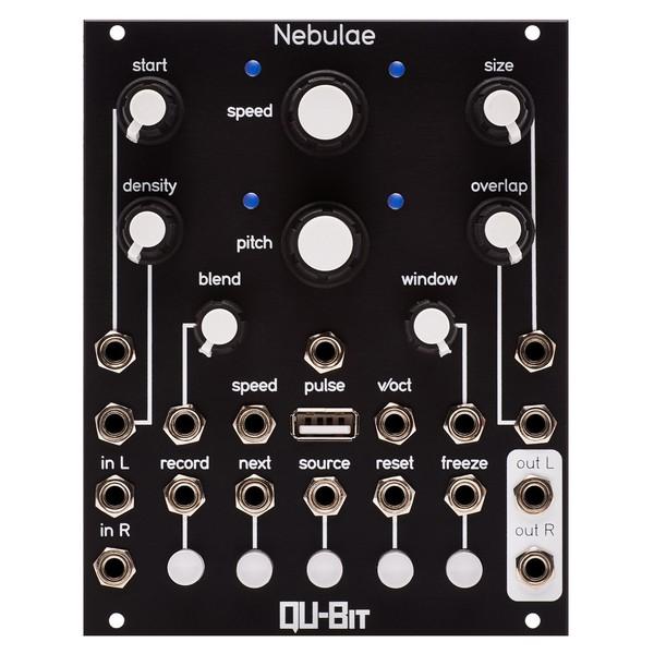 Qu-Bit Nebulae Stereo Granular Sampler - Front