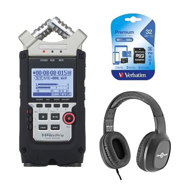 Zoom H4N Pro Recording Bundle - Main
