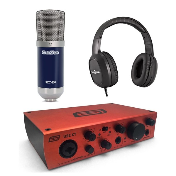 ESI U22XT Vocal Recording Bundle - Main