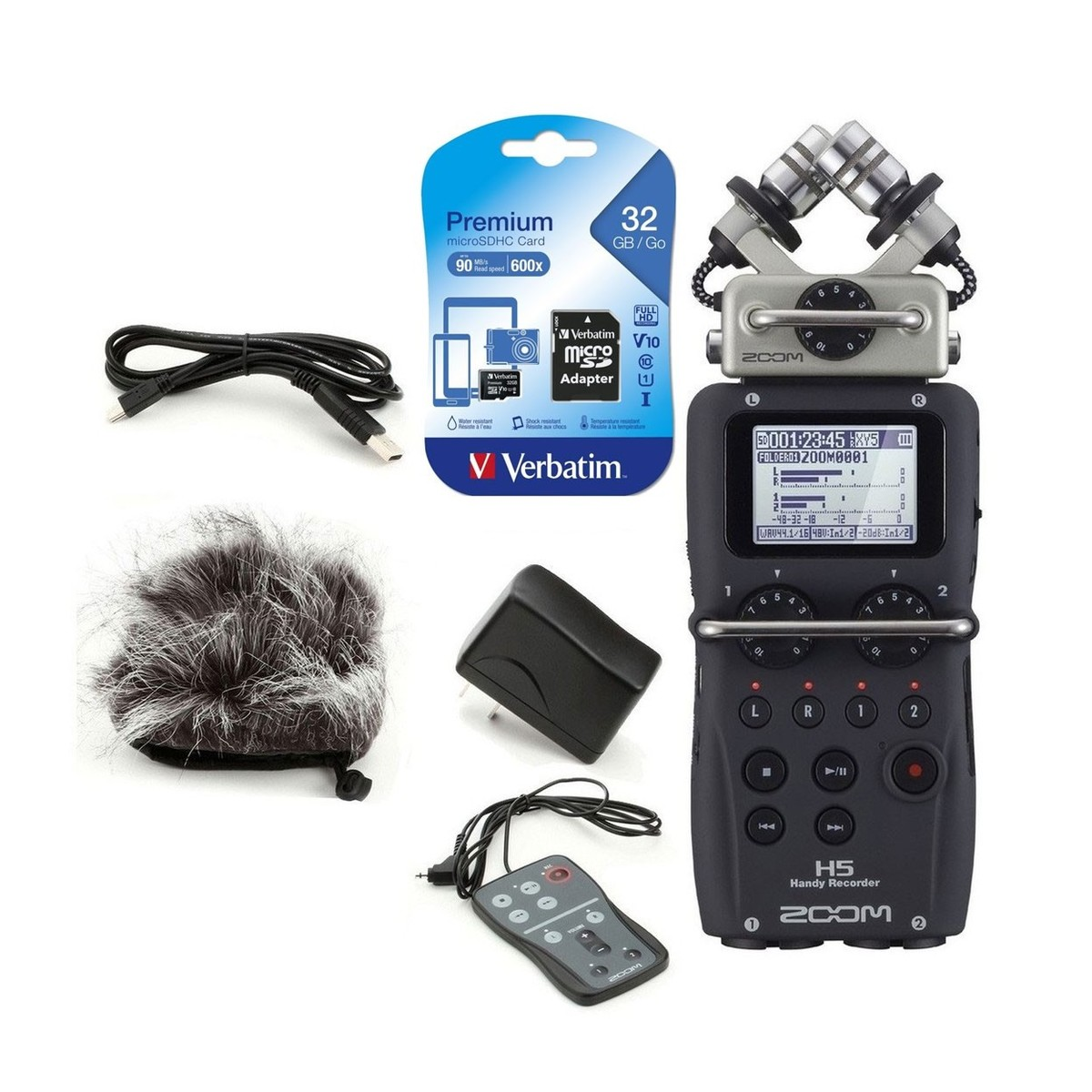 Zoom H5 Location Recording Pack at Gear4music