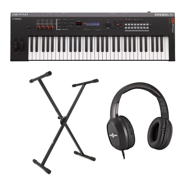 Yamaha MX61 II with Stand and Headphones - Main