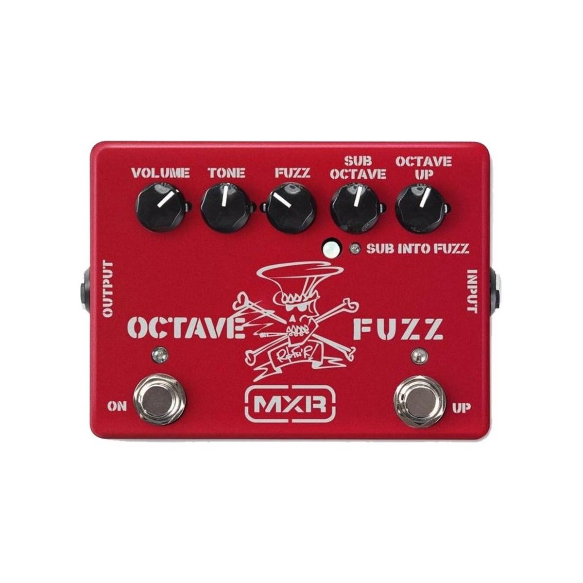Mxr Sf01r Slash Octave Fuzz Ltd Ruby Red At Gear4music Octaver Guitar Effects