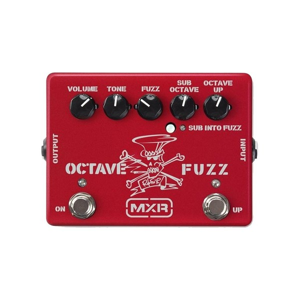 MXR SF01R Slash Octave Fuzz Ltd, Ruby Red