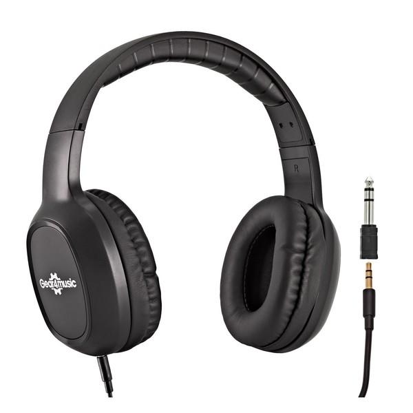 Yamaha MX61 II with Stand and Headphones, White - hp-210 headphones