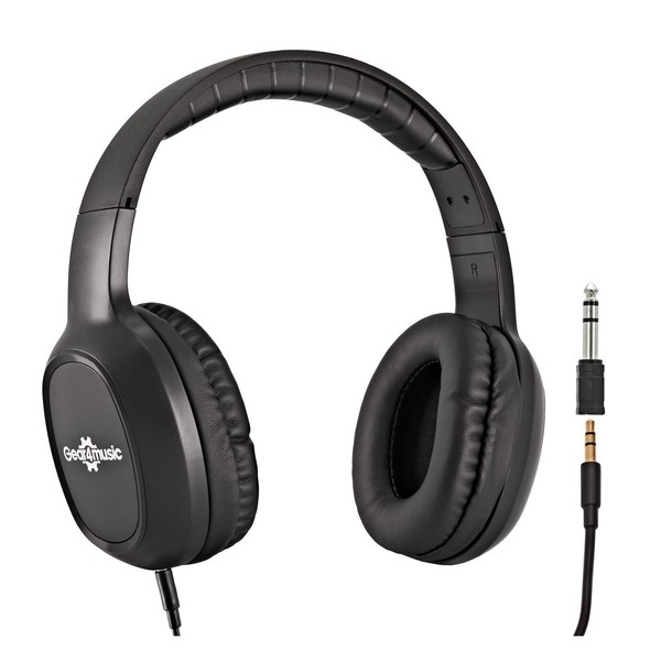 Korg LP-180 Digital Piano, White with Stool + Headphones - hp-210 headphones