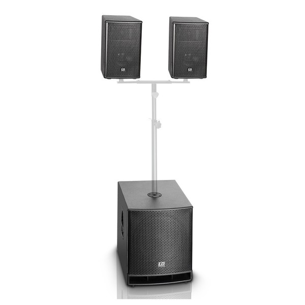 LD Systems DAVE 15 G3 Portable Active PA System Stand Not Included