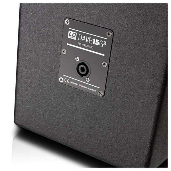 LD Systems DAVE 15 G3 Portable Active PA System Speakon In