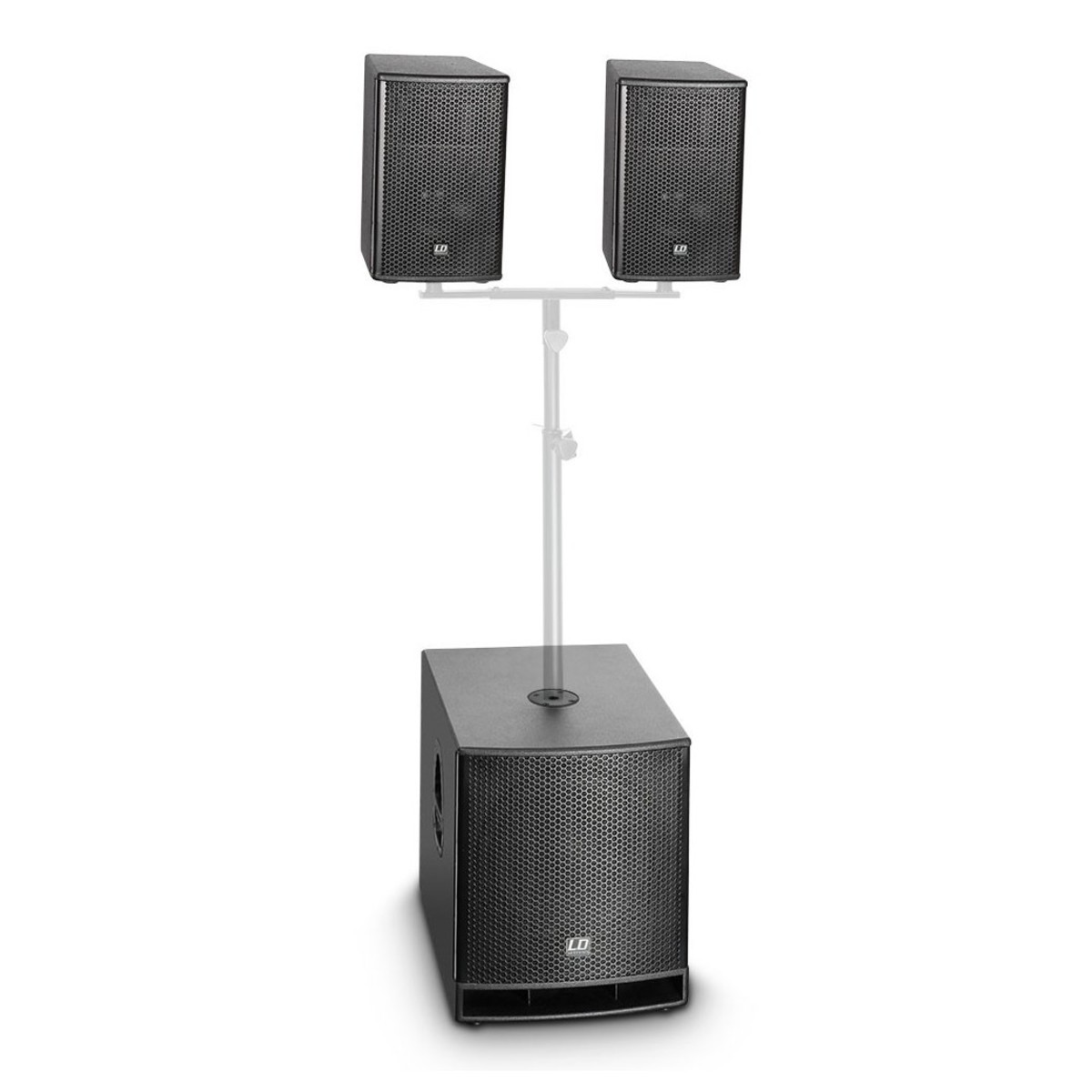 ld systems dave10g3 compact active pa system at gear4music. Black Bedroom Furniture Sets. Home Design Ideas