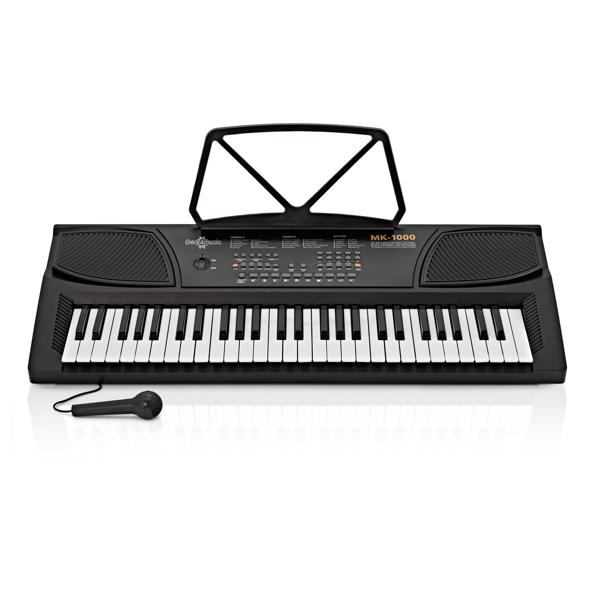 Shop now | MK-1000 54-Key Portable Keyboard By Gear4music