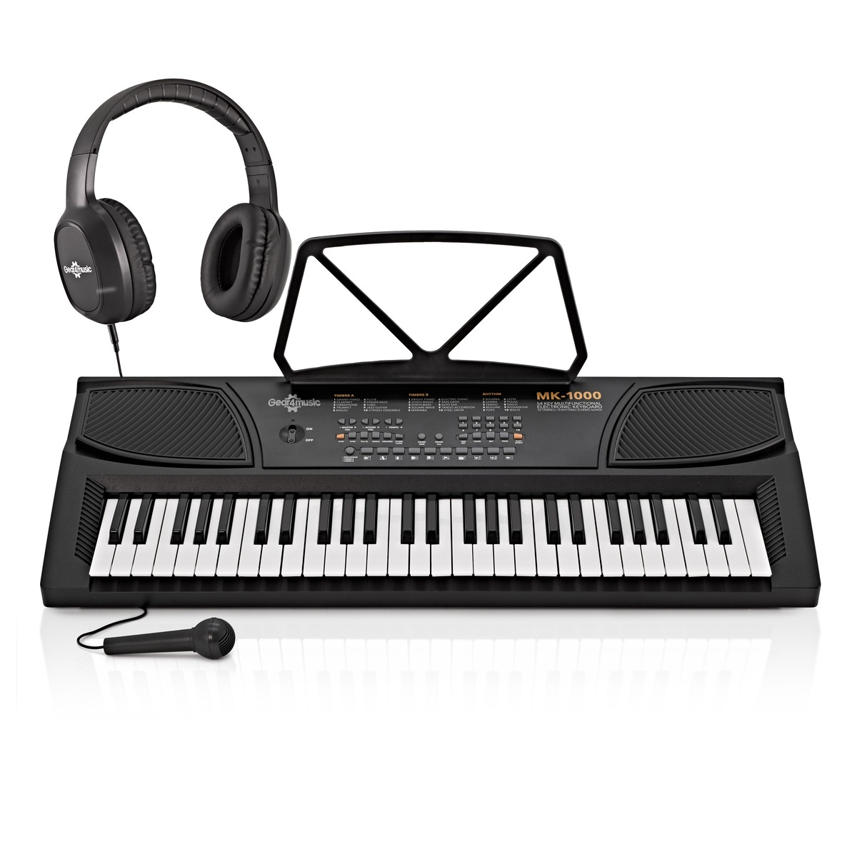 mk 1000 54 key portable keyboard by gear4music starter pack at gear4music. Black Bedroom Furniture Sets. Home Design Ideas