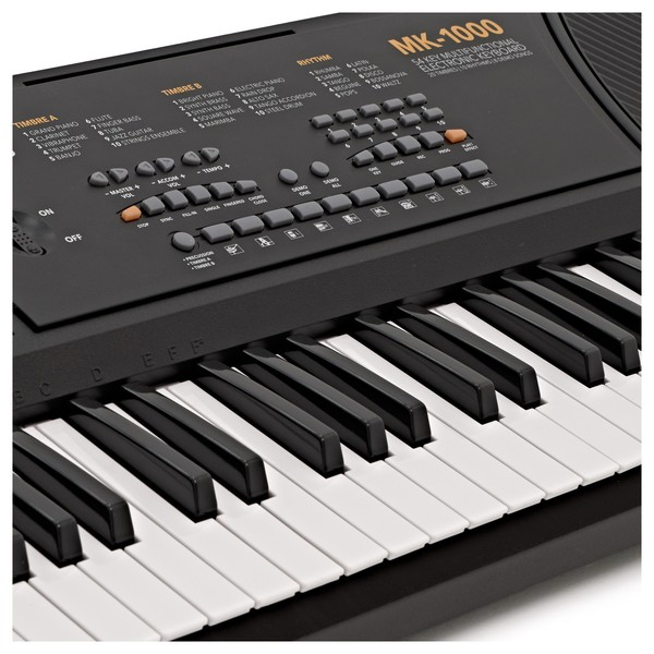 MK-1000 54-key Portable Keyboard by Gear4music - Starter Pack