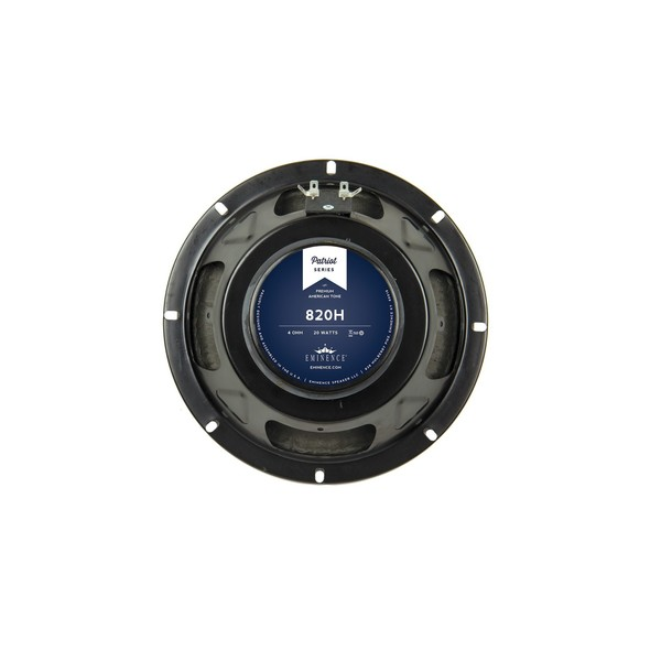 Eminence 820H 20 Watt 8'' Speaker, 4 Ohm