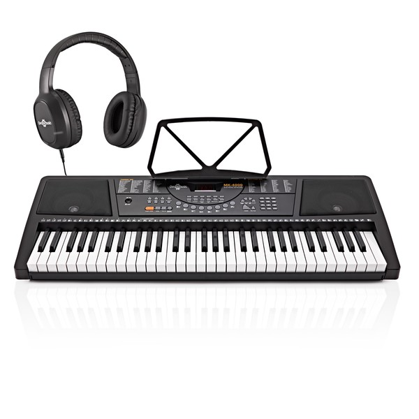 MK-4000 61-Key Keyboard by Gear4music - Starter Pack
