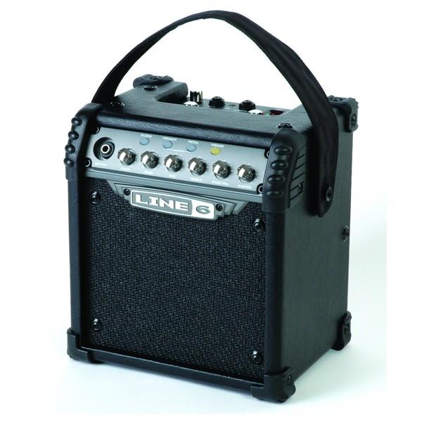 Line 6 Micro Spider 6 Watt Portable Combo Guitar Amplifier Left