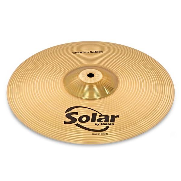 "Sabian Solar 12"" Brass Splash Cymbal"