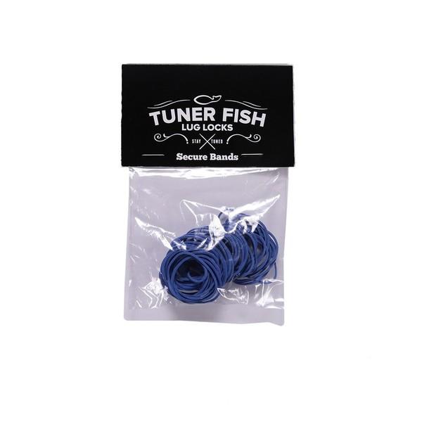 Tuner Fish Secure Bands for Lug Locks, Blue - Main Image