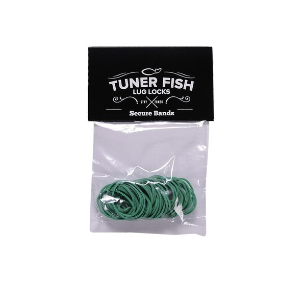 Tuner Fish Secure Bands for Lug Locks, Green - Main Image