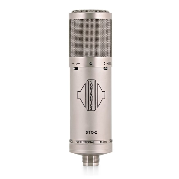 Sontronics STC-2 Condenser Mic, Silver front