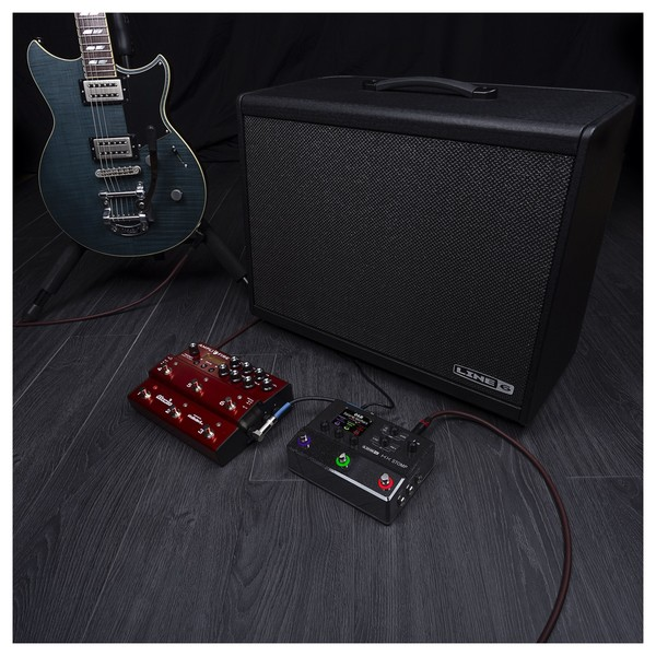 Line 6 Helix HX Stomp - guitar rig