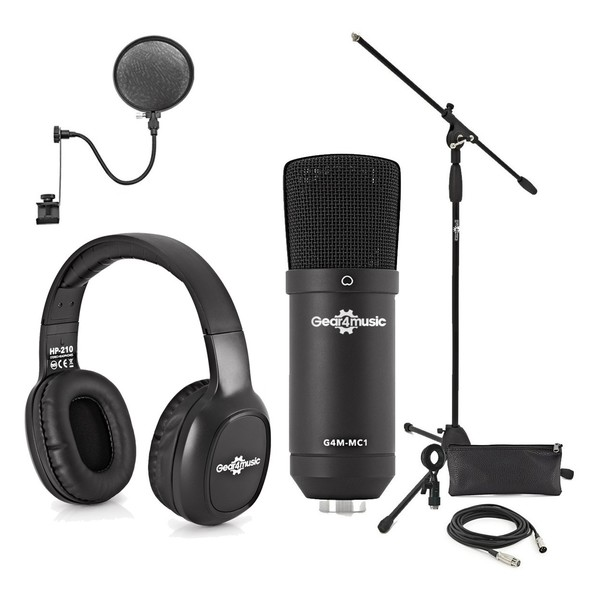 Recording Starter Pack by Gear4music
