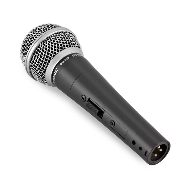Phonic DM.690 Vocal and Instrument Microphone angle
