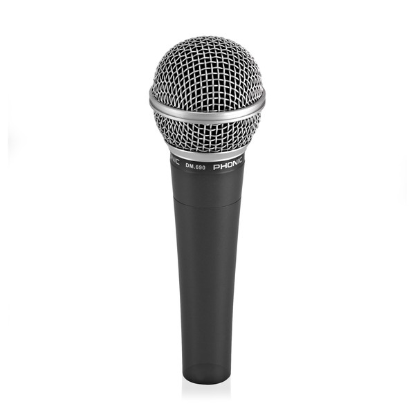 Phonic DM.690 Vocal and Instrument Microphone back