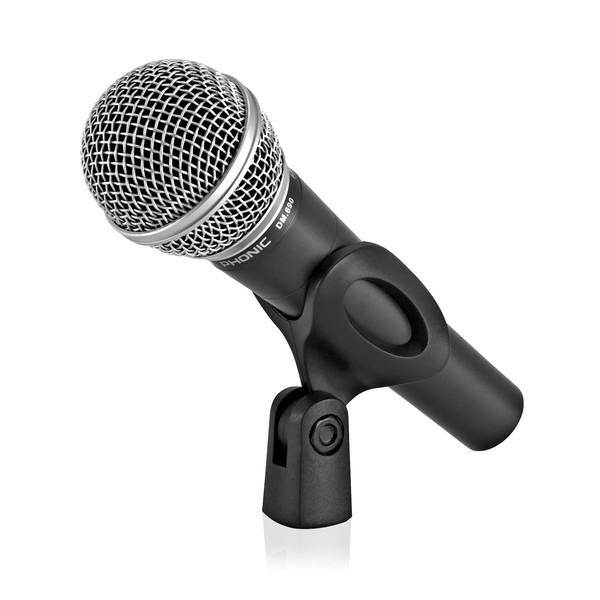 Phonic DM.690 Vocal and Instrument Microphone side
