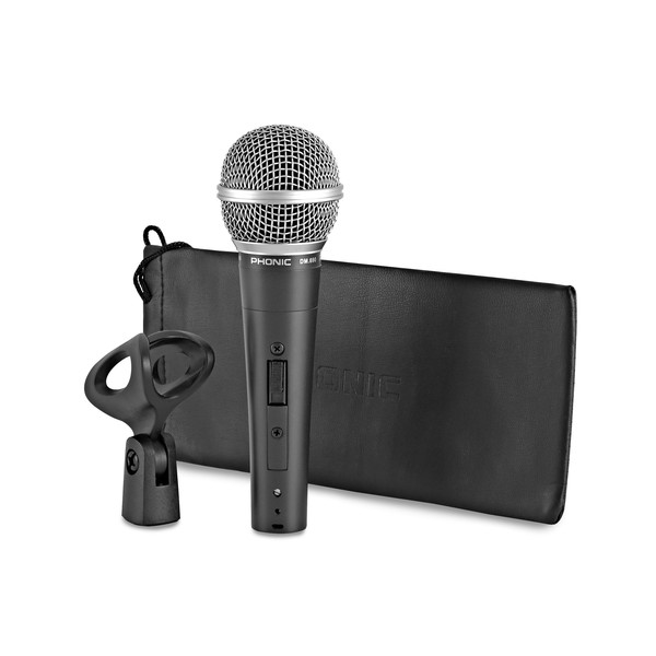 Phonic DM.690 Vocal and Instrument Microphone bundle