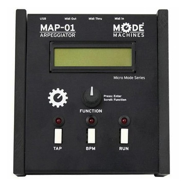 Mode Machines MAP-01 USB and MIDI Arpeggiator Main