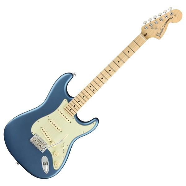 Fender American Performer Stratocaster MN, Satin Lake Placid Blue