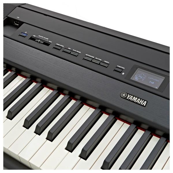 Yamaha P515 Digital Piano, Black close1