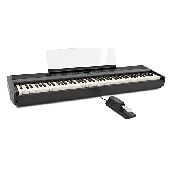 Yamaha P515 Digital Piano, Black angle